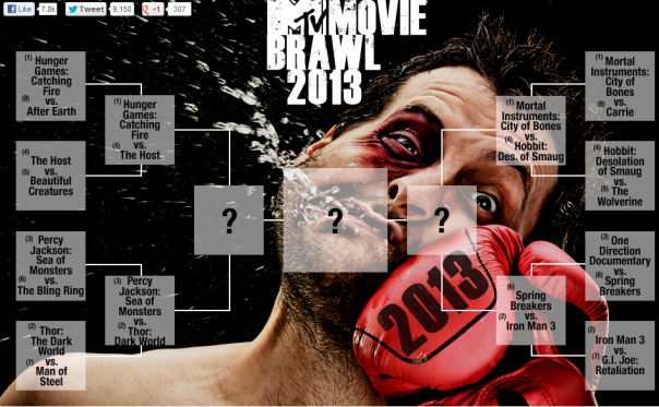 MTV Movie Brawl 2013 Round 2
