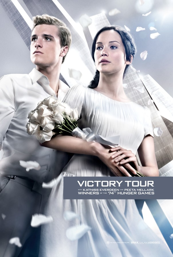 Victory Tour Katniss Everdeen Peeta Mellark Close Up