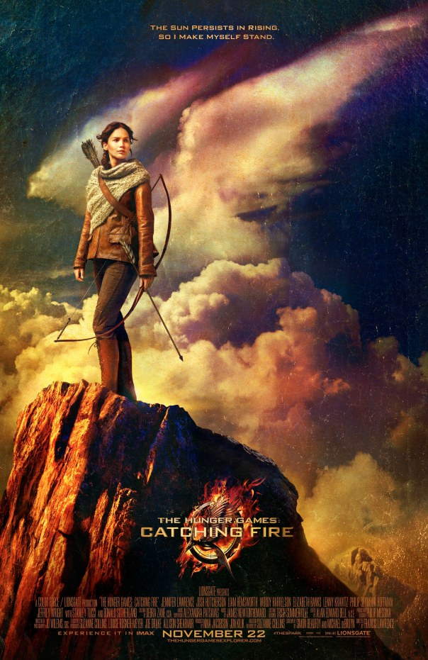 CATCHING FIRE KATNISS CLIFF POSTER
