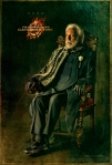 Donald Sutherland as President Coriolanus Snow
